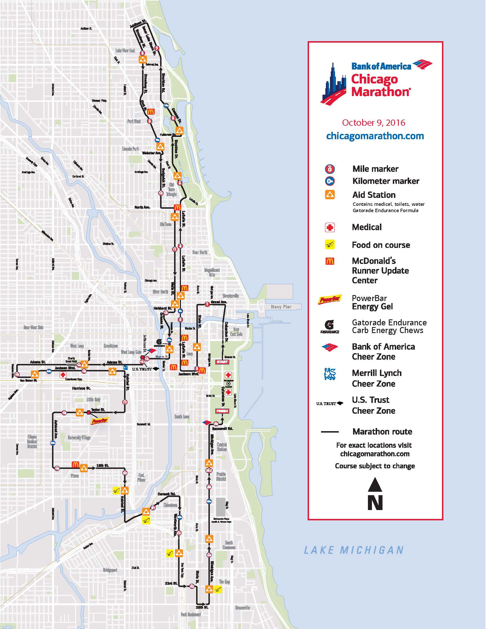 chicago marathon 2016 street closures | chicago association