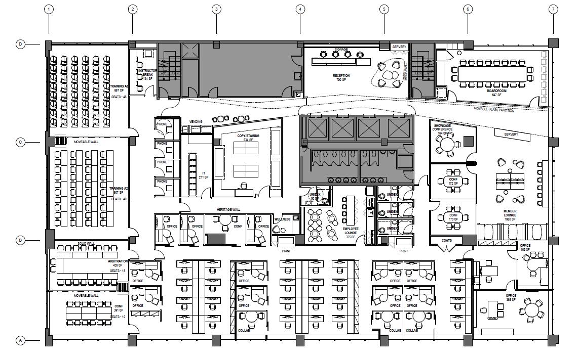 430 N. Michigan Floorplan